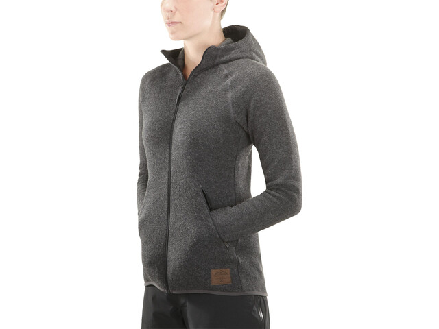 Haglöfs Whooly Chaqueta con capucha Mujer, magnetite